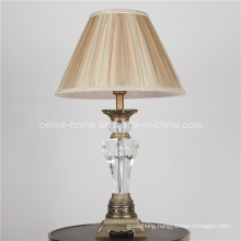 Crystal Table Lamp with Die Casting Decoration (SL82123)