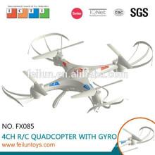 Novo! Feilun FX085 2,4 G 4.5CH 6 eixos giroscópio plástico quadcopter do rc com câmera HD
