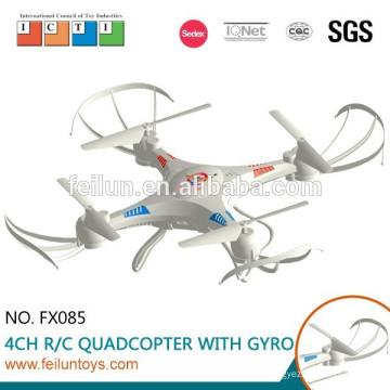 Новые функции! Feilun FX085 2.4G 4.5CH 6-осевой гироскоп пластиковые rc горючего с HD-камеры
