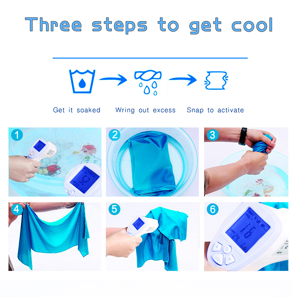 easy to get the cooling towel cool