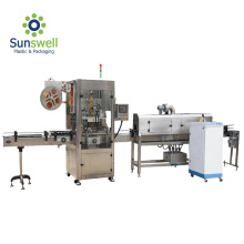 Steam Shrink Tunnel Sleeve Label Machine