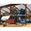 Pollution Free 10 T / D usine de recyclage des déchets de l'équipement d'huile de pyrolyse municipale