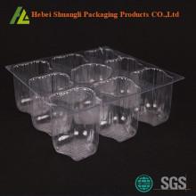 स्पष्ट पारदर्शी प्लास्टिक थोक कप केक बक्से