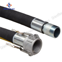 Rubber water suction and discharge hoses
