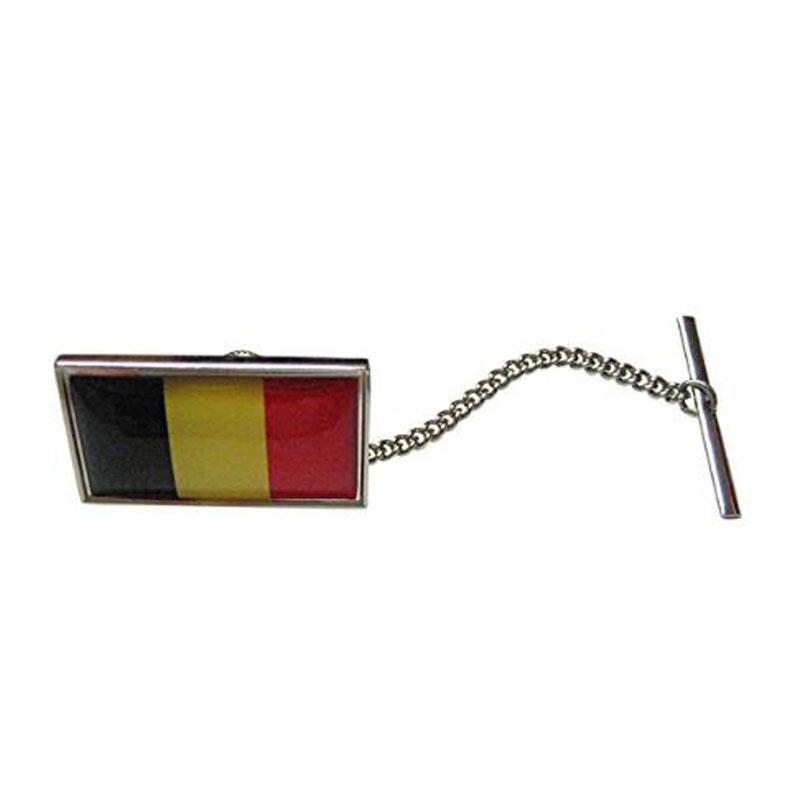 Belgium Flag Tie Tack