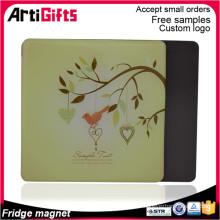 nouveau produit personnalisé papier décoratif aimant de réfrigérateur