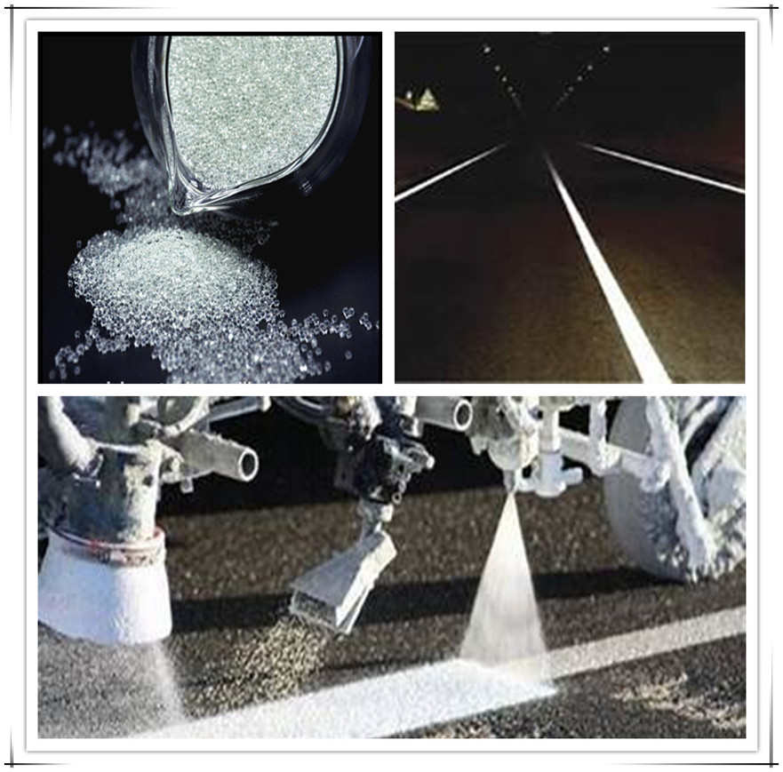 road paint road marking reflective glass beads