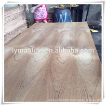 linyi supply burma teak fancy plywood/ flower cut teak veneer plywood/ash veneer plywood