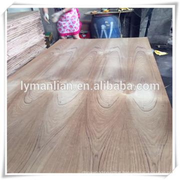 linyi supply burma teak fancy plywood/ flower cut teak veneer plywood/ash veneer plywood