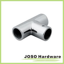 Forma de tubo de acero inoxidable ducha baño de sala de hardware (AC008)