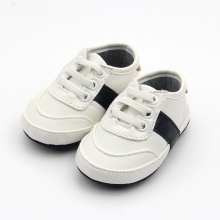 White Walking Shoelace Baby Sportskor