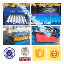 galvanized corrugated roofing sheets machine