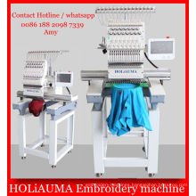 High Speed 1 Head Multi Function Embroidery Machine / 3D Cap T-Shirt Flat Embroidery Machine