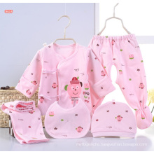 Newborn Baby Printed 5PCS Infant Clothes