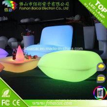Changement de couleur Chaise LED rechargeable