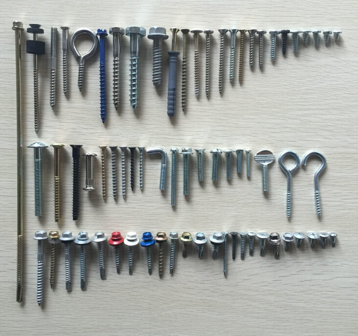 metal screws