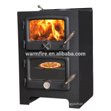 wood stove with oven