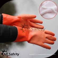 SRSAFETY Джерси латексные химические водонепроницаемые перчатки с рыбалкой