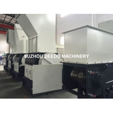Madera, caucho, máquina de trituración de material a granel