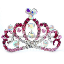 New 2014 Designed Charms Bride Zinc Alloy Crown In Wedding Party
