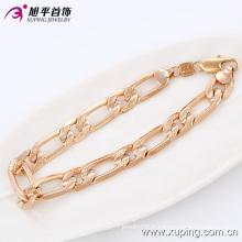 Mode de bonne qualité Rose plaqué or Imitation hommes bijoux Bracelet en alliage -74114