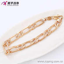 Moda de boa qualidade Rose banhado a ouro imitação Men jóias pulseira em liga -74114