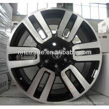 Gun machined face Car rims for sales 20""