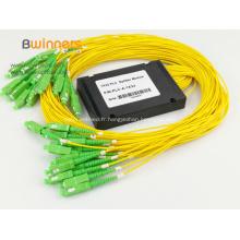 Coupleur fibre optique avec connecteurs SC 1x32