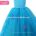 Cendrillon Robe Filles Princesse Enfants Enfants De Noël Halloween Cosplay Costume Paillettes Tutu Robe Robes