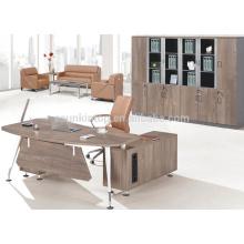 Secretária de escritório em casa de melamina elegante moderna