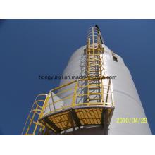 Tanque o recipiente de fibra de vidrio para la producción de petróleo