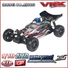 Boa qualidade 01:10 Nitro RC carro de alta velocidade de 65 KM/H