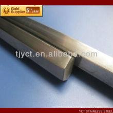 Barre carrée en acier inoxydable AISI 304 / 304L