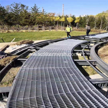 Galvanized Steel Grate Park Road / Trench Cover