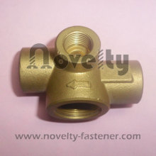 Encaixe para tubo de cobre de bronze