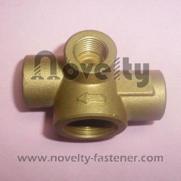 Accesorio para tubería de cobre de latón