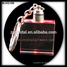Kristall leer Schlüsselbund