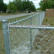 Electro Galvanized Chain Link Fence For Home Garden