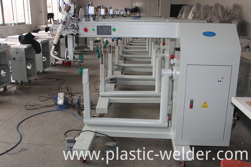 hot air seam seaing machine