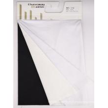 40s elástico alto espesar la tela del algodón del spandex del algodón