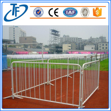 Galvanized crowd control panel fencing