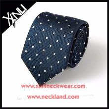 Hommes de luxe 100% tissé Chine cravate en soie Fabricant