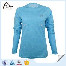 Wet Permeability Professionnal Laufoberteile Laufbekleidung für Frauen