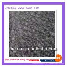 Crinkle black powder coating