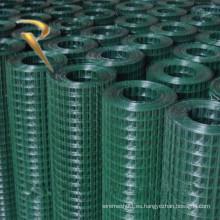 Malla de alambre soldada con recubrimiento de PVC (fabricante)