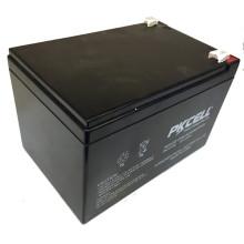 PKCELL mini 12 voltios sube la batería de plomo ácido 12v 12ah VRLA batería de plomo
