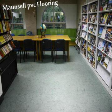Revêtement de sol en PVC peu coûteux d'épaisseur de 3,0 mm pour salle d'hôpital