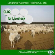 2015 Heißer Verkauf Chlordioxydtablette für Viehbestand Desinfektion