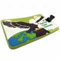 Hot Sale Custom PVC Soft Logo Luggage Animal Shape Tag