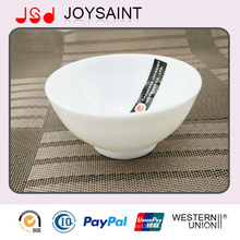 El tazón de fuente de cristal a granel del embalaje de la seguridad o las estrellas individuales adorna el cuenco de arroz de la cristalería para la promoción